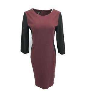 Talbots Long Sleeve Fitted Sheath Dress Size 10